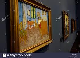 bedroom in arles 1889 vincent gogh orsay museum