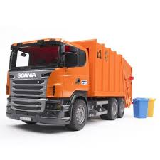 Bruder Scania R-Series Orange Toy Garbage Truck - Educational Toys ...