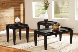 table black tray cocktail table 2 end tables 65806 120 norcastle