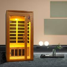 dynamic saunas barcelona 1 to 2 person infrared carbon sauna