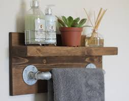 ShelfAwesome Rustic Industrial Bathroom Inspirational Home Decorating Creative At Design A
