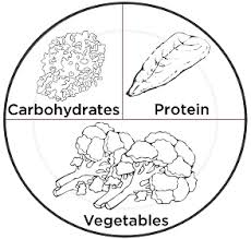 The balance of foods on your plate is important when trying to eat healthy Keep in mind the picture of the divided plate shown here