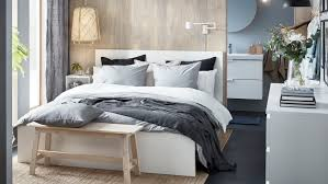 Bedroom Ideas | Bedroom Sets | Bedroom Furniture - IKEA Apartment Living Room Interior With Red Sofa And Blue Chairs Chairs On Either Side Of White Chestofdrawers Below Fniture For Light Walls Baby White Gorgeous Gray Pictures Images Of Rooms Antique Table And In Bedroom With Blue 30 Unexpected Colors Best Color Combinations Walls Brown Fniture Contemporary Bedroom How To Design Lay Out A Small Modern Minimalist Bed Linen Curtains Stylish Unique Originals Store Singapore