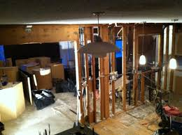 installing lvl beam flush with ceiling joists building