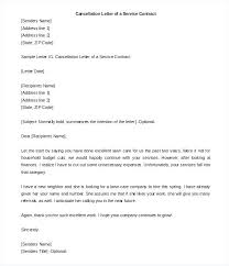 Termination Of Service Agreement Template Letter Samples A Free Outsourcing Contract Pdf Sample For Standard Level