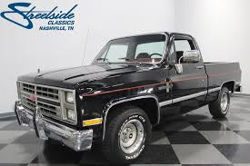 1985 Chevrolet C10 | Streetside Classics - The Nation's Trusted ... Chevrolet Silverado Reviews Specs Prices Photos And Videos Top Vintage Chevy Truck Pickup Searcy Ar Classic 1985 C10 For Sale 9311 Dyler 1977 Ck 10 Overview Cargurus Youtube Rocky Ridge Lifted Trucks Gentilini Woodbine Nj Chevy 4x4 Trucks With Rally Wheels Olyella1tons S10 Pictures Mods Upgrades Wallpaper 2 Door Real Muscle Exotic Daily Turismo 10k America K10 1500 4x4 Bob Fisher Dealer In Reading Pa New Used Cars