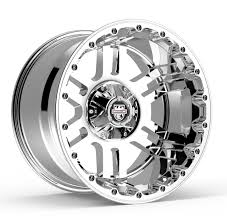100 20 Inch Truck Rims Center Line Lifted Series LT1 830C Wheels Chrome X9