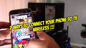 2 Ways How to Connect Android Phones Tablets to TV Wireless