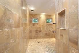 100 In Marble Walls Large Shower In Luxury Home With Marble Walls
