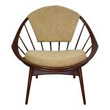 Kofod Larsen Selig Lounge Chair by Ib Kofod Larsen For Selig Hoop Lounge Chair Chairish