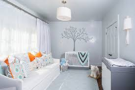 Teal And Orange Living Room Decor by 21 Gorgeous Gray Nursery Ideas
