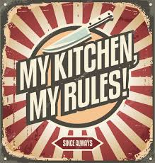 Vintage Kitchen Sign Stock Vector