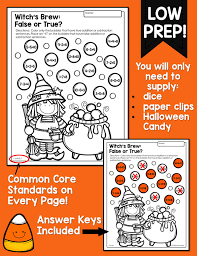 Halloween Multiplication Worksheets 3rd Grade by Halloween Math Activities Primary Theme Park