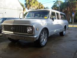 72 Chevy Suburban 3 Door RestoRod Project $5 500 OBO C10 Forum