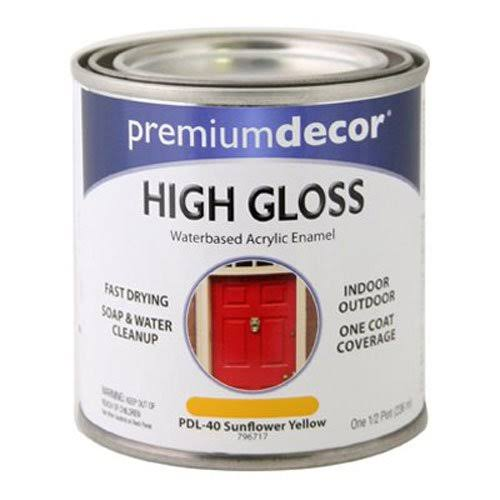 True Value Manufacturing Premium Decor High Gloss - Pdl-40 Sunflower Yellow