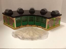 Thomas And Friends Tidmouth Sheds Wooden Railway by Thomas And Friends Wooden Railway 5 Engine Roundhouse W Track