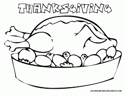 Printable Free Thanksgiving Coloring Pages