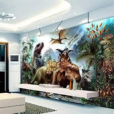 fototapete dekor wallpaper benutzerdefinierte 3d poster 3d dinosaurier vlies wandbild wohnzimmer schlafzimmer kinderzimmer wandbilder tapete
