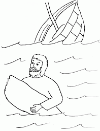 Paul Welcomes Barnabas Colouring Pages Page 2