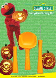 Oscar The Grouch Pumpkin Decorating by Sesame Street Pumpkin Carving Kits Muppet Wiki Fandom Powered