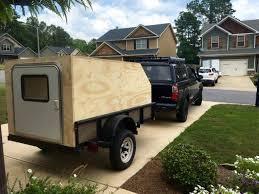 Utility Trailer Teardrop Off Roadish Camper Build