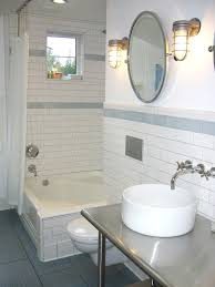 white subway tiles grey grout home interior designs