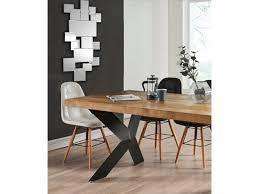 wandspiegel geometrisches design arol 120x2x53 cm