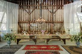 Details Decorating Your Barn Wedding