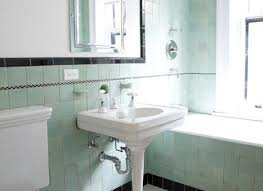35 vintage black and white bathroom tile ideas and pictures retro