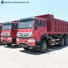 100 Trucks For Cheap Fire Red Sinotruck Howo 8x4 Dump Truck Tipper Buy