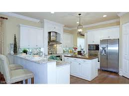 Custom Outdoor Kitchens Naples Fl by Kitchen Cabinets Naples Drake Model Home Kitchen With White