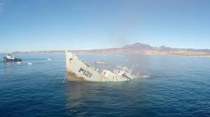 Uss America Sinking Photos by Gopro Awards Sinking A Mexican Navy Warship Youtube