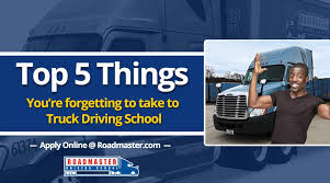 100 Crst Trucking School Locations Top 5 Things Youre Forgetting To Take To CDL Roadmaster