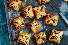 baked canapes fig and goat s cheese puffs recipe olive magazine