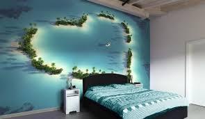 Delightful Decoration Ocean Bedroom Ideas Bedrooms Wallpapers Photowallpaper Wall