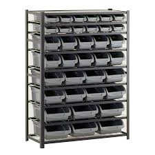 Edsal Economical Storage Cabinets by Shop Freestanding Shelving Units At Lowes Com