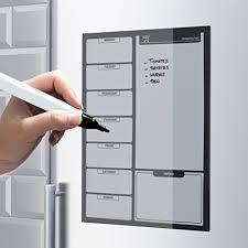 tableau memo cuisine thiltrading tableau magnétique frigo avec marqueur mémo