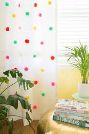 Plum And Bow Blackout Pom Pom Curtains by Diy No Sew Pom Pom Curtains Orc Week 5 Pom Pom Curtains