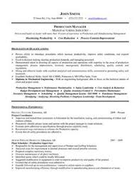 Inspiration Sample Resume Of Engineering Project Manager About Samples