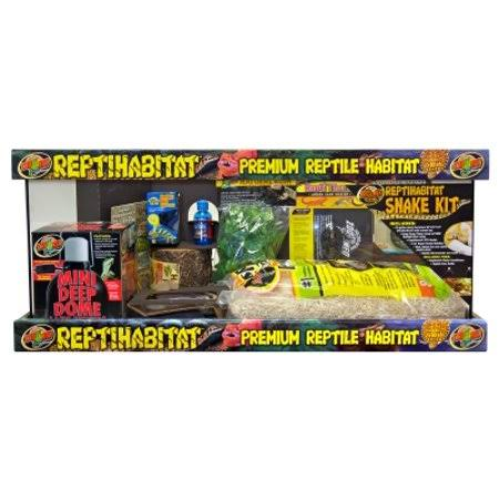 Zoo Med Laboratories Reptihabitat 20 Long Snake Starter Kit