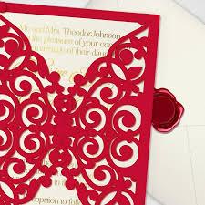 printable laser cut wedding invitation template vector cutting