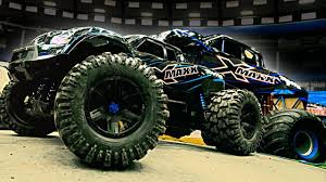 RC Vs. Full-Size Monster Truck!! | Traxxas X-Maxx - YouTube Traxxas 116 Grave Digger Monster Jam Replica Review Rc Truck Stop 30th Anniversary 110 Scale 2wd Erevo 168v Dual Motor 4wd Truck Rtr W Tsm Tqi 24 Its Hugh The Xmaxx Electric From Tra390864 Emaxx Series Black Brushless 491041blk Tmaxx Nitro Jegs Summit Vxl 116scale Extreme Terrain Stampede 4x4 Wtqi Gointscom Destruction Tour At The Expo In Central Point