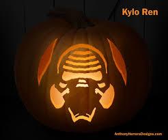 New Stormtrooper Pumpkin Stencil by Print And Carve Out Star Wars Pumpkins Kylo Ren Halloween