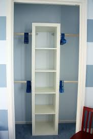 Inexpensive Closet Organizationget This Shelf From Ikea And Add Some Tension Rods
