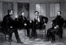 From Left Gen William T Sherman Ulysses S Grant