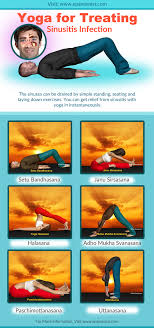 Yoga Asanas Kriya Diet For Treating Sinusitis Infection