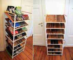 How To Use IKEA Products To Build Shoe Storage Systems
