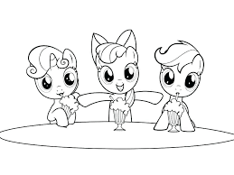 Twilight My Little Pony Coloring Pages Baby Of Ponies