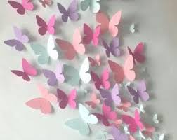 Paper Wall 3D Butterfly