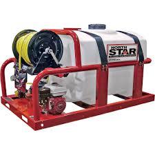 100 North Star Trucking Skid Sprayer 200Gallon Capacity 160cc Honda GX160